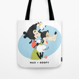 Disney Dads: Goofy + Max Tote Bag