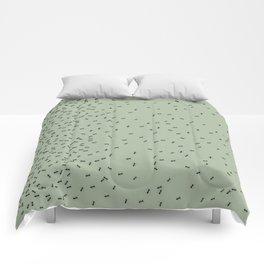 ANTS GREEN (BIG RUG) Comforters
