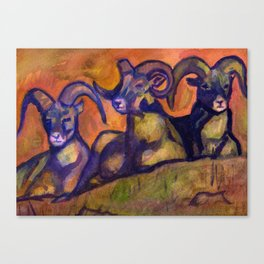 Ram Trinity Canvas Print