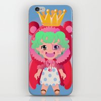 one piece iPhone & iPod Skins featuring Sugar from one piece by Dama Chan