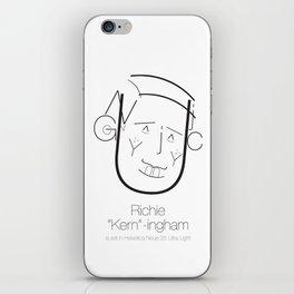 Richie 'Kern'-ingham iPhone Skin