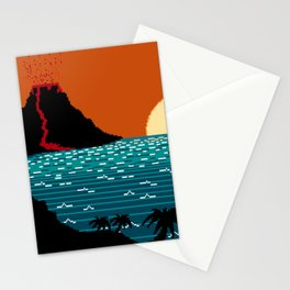 Tropic  Feast Stationery Cards