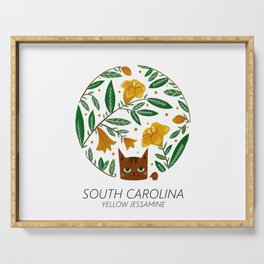 American Cats - South Carolina Serving Tray