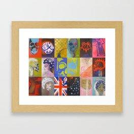 Going Underground Framed Art Print