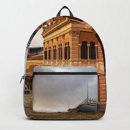 Atocha Railway Station of Madrid Backpack