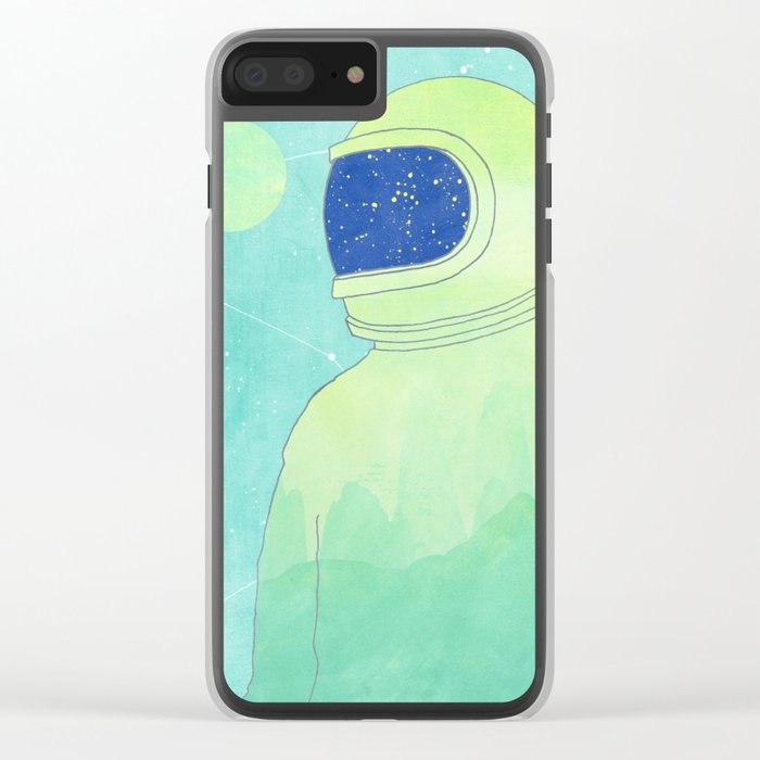 Wanderer Within Clear iPhone Case