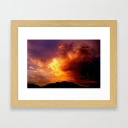 All we can do is wait.  Framed Art Print