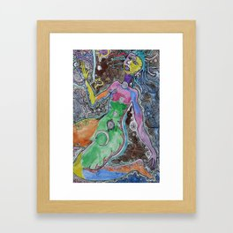 The Living Universe Framed Art Print
