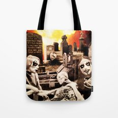 From Entombed to Exhumed Tote Bag