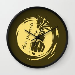 The Punch Wall Clock