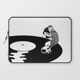 Don't Just Listen, Feel It Laptop Sleeve