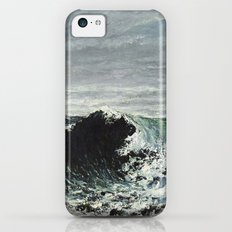 Gustave Courbet - The Wave Slim Case iPhone 5c
