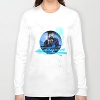 garrus Long Sleeve T-shirts featuring Garrus Vakarian with shades by Vulpa
