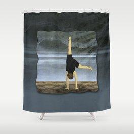 Cartwheel Shower Curtain