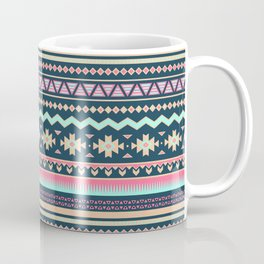 Colorful Aztec Tribal Pattern Coffee Mug
