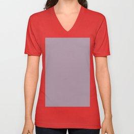 Heliotrope gray Unisex V-Neck