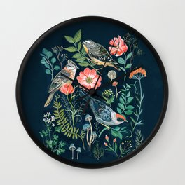 Birds Garden Wall Clock