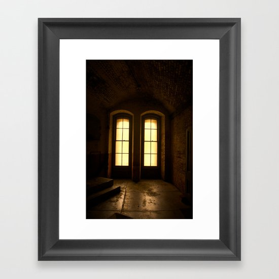 Paused In Time Framed Art Print
