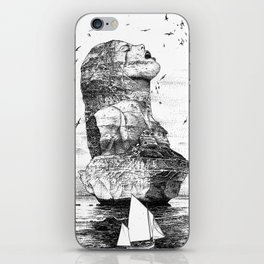 asc 757 - La nostalgie est une île (The remains) iPhone Skin