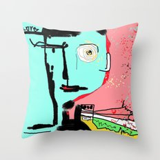 Living is Loving  Throw Pillow