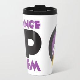 Strange Up Salem Logo Travel Mug