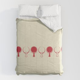 All In A Line Comforters