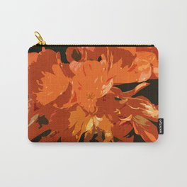 Orange Bush Lily Carry-All Pouch