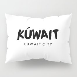 Kuwait City x Kuwait Pillow Sham