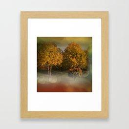 autumn will come -1- Framed Art Print