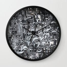 Rise Above The Chaos Wall Clock
