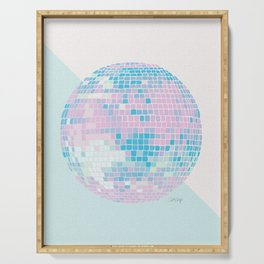 Disco Ball – Pastel Serving Tray