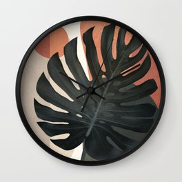 Soft Shapes VIII Wall Clock