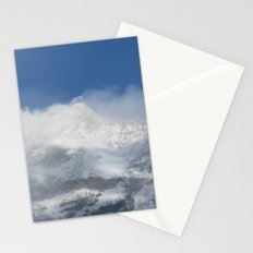 Snowy Peaks Stationery Cards