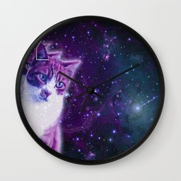 Galaxy Catz Wall Clock