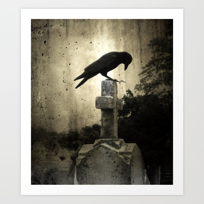 The Crow's Cross Art Print