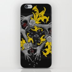 Hands and Hearts iPhone & iPod Skin