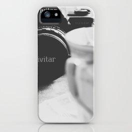 Vivitar and Tea Time iPhone Case