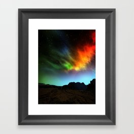 Fantasy Skies Framed Art Print