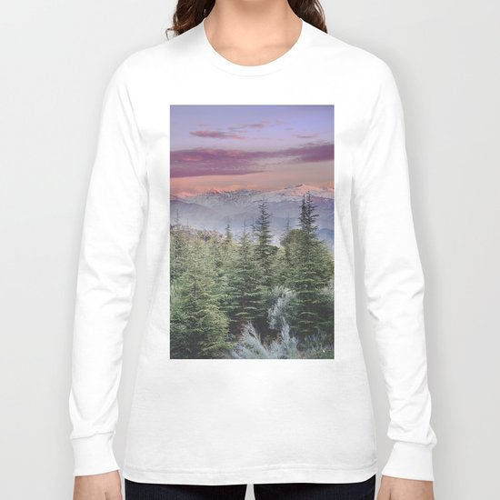 """Wildderness III"". Adventure at the mountains... Long Sleeve T-shirt"
