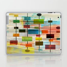 Mid-Century Modern Art 1.3 -  Graffiti Style Laptop & iPad Skin