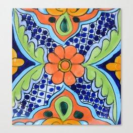 Talavera Ten Canvas Print