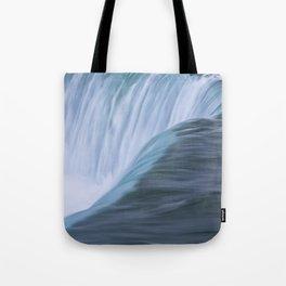 Niagara Falls Ontario Vertical Closeup Tote Bag