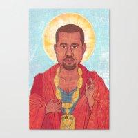 rap Canvas Prints featuring Rap God by Ashley Ross