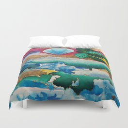 Creations of Light Reflections Duvet Cover