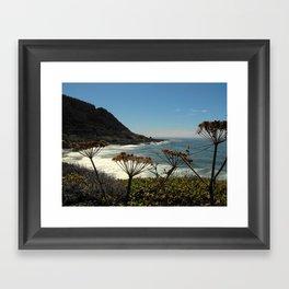 A Peek Framed Art Print