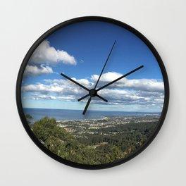 Bulli Lookout in Wollongong NSW Australia Wall Clock