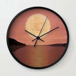 Futuristic Visions 03 Wall Clock