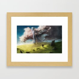 Winter Passing By Framed Art Print