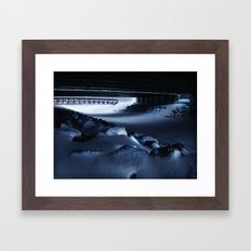 Chilled Evening III Framed Art Print