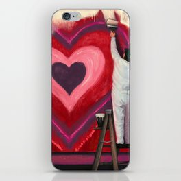 Valentine's Day Illustration iPhone Skin